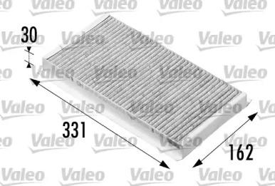 698710 VALEO Фильтр, воздух во внутренном пространстве