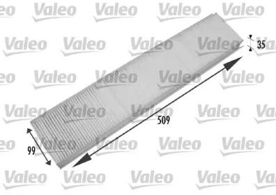 698779 VALEO Фильтр, воздух во внутренном пространстве