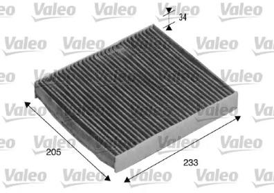 715511 VALEO Фильтр, воздух во внутренном пространстве
