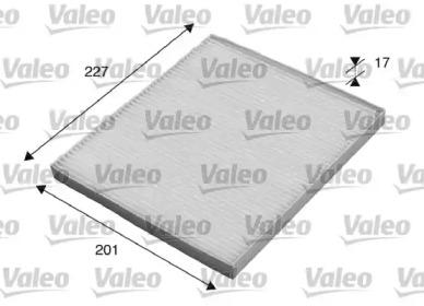 715521 VALEO filtr kabinowy pc / zwykly HYUNDAI Tucso n (2004>) 2.0CRDi,