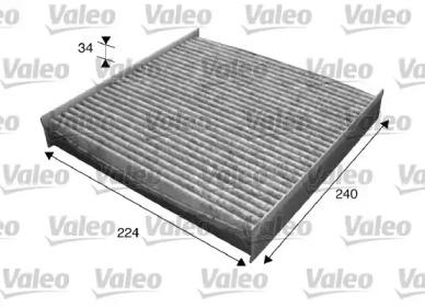 715629 VALEO Фильтр, воздух во внутренном пространстве