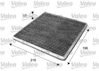 715650 VALEO FILTR KABINOWY PC / WEGLOWY