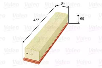 585312 VALEO Воздушный фильтр