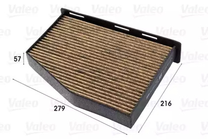701001 VALEO FILTR KABINY VW GOLF/OCTAVIA (PRZECIWPY