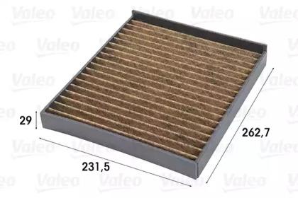 701008 VALEO FILTR KABINY OPEL ASTRA G (PRZECIWPY