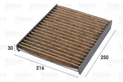 701009 VALEO FILTR KABINY VW A2/POLO/FABIA (PRZECIWPY