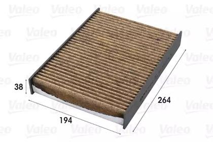 701012 VALEO FILTR KABINY RENAULT SCENIC (PRZECIWPY