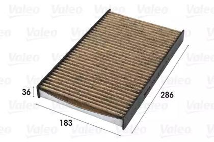 701014 VALEO FILTR KABINY CITROEN C2/C3/C4 (PRZECIWPY
