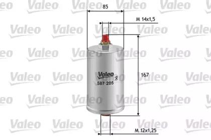 587205 VALEO FILTR PALIWA DB W201,W124,W140