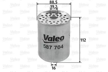 587704 VALEO FILTR PALIWA FORD PEUGEOT RENAULT