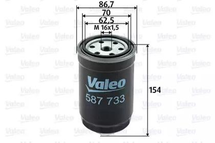 587733 VALEO Топливный фильтр