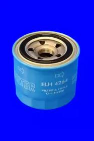 ELH4264 MECAFILTER Фільтр масляний Hyundai Accent, Getz, Sonata, Solaris, Tucson 05.04- Kia Ceed/Subaru Impreza 1.6i 16V, 1.8i 16V 2/93-