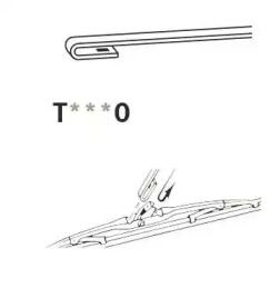 T450 TRICO Щетка стеклоочистителя -2