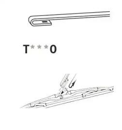 T530 TRICO Щетка стеклоочистителя -2