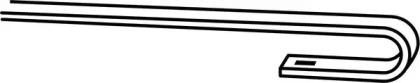 FX550 TRICO Щетка стеклоочистителя -14