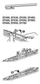 EF500 TRICO Щетка стеклоочистителя -5