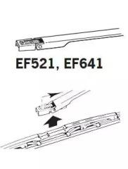 EF641 TRICO Щетка стеклоочистителя -3