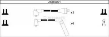 J5385001 NIPPARTS Комплект проводов зажигания