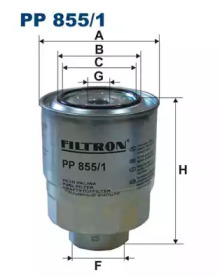 PP8551 FILTRON