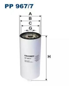 PP9677 FILTRON Топливный фильтр