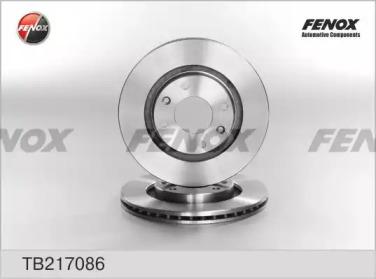 TB217086 FENOX Тормозной диск