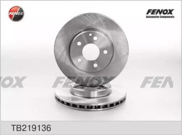 Диск тормозной передний вентилируемый MERCEDES (W211) FENOX TB219136 для авто MERCEDES-BENZ с доставкой