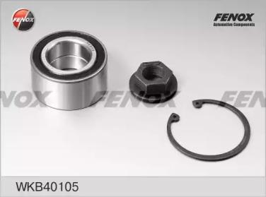WKB40105 FENOX Комплект подшипника ступицы колеса