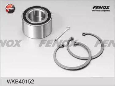 WKB40152 FENOX Комплект подшипника ступицы колеса