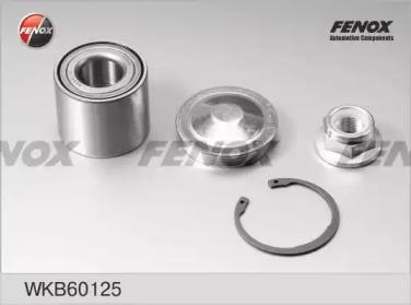 WKB60125 FENOX Комплект подшипника ступицы колеса
