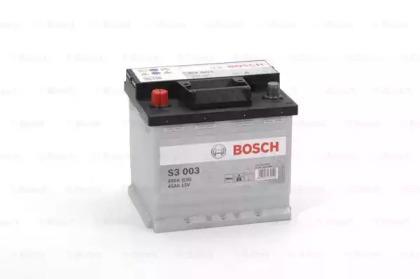 Аккумулятор   45Ah-12v BOSCH (S3003) (207x175x190),L,EN400                                           BOSCH 0092S30030