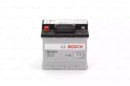 Аккумулятор   45Ah-12v BOSCH (S3003) (207x175x190),L,EN400                                           BOSCH 0092S30030-1