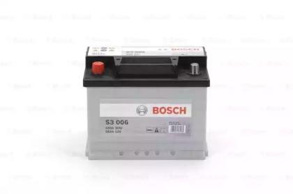 Аккумулятор   56Ah-12v BOSCH (S3006) (242x175x190),L,EN480                                           BOSCH 0092S30060-1