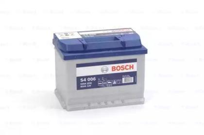 Аккумулятор   60Ah-12v BOSCH (S4006) (242x175x190),L,EN540                                           BOSCH 0092S40060