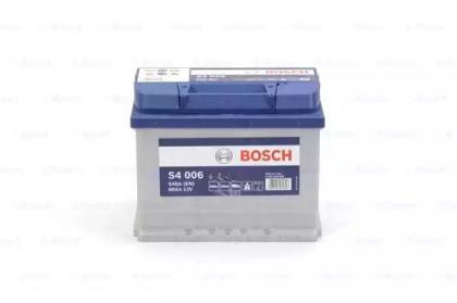 Аккумулятор   60Ah-12v BOSCH (S4006) (242x175x190),L,EN540                                           BOSCH 0092S40060-1