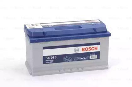 Аккумулятор   95Ah-12v BOSCH (S4013) (353x175x190),R,EN800                                           BOSCH 0092S40130