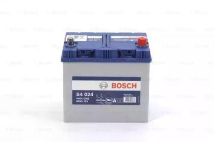Аккумулятор   60Ah-12v BOSCH (S4024) (232x173x225),R,EN540                                           BOSCH 0092S40240-1