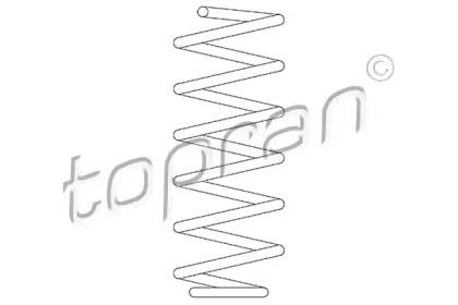 109262 TOPRAN Пружина ходовой части