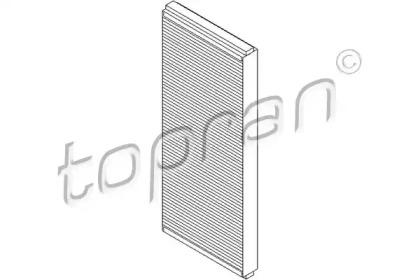 108409 TOPRAN Фильтр, воздух во внутренном пространстве