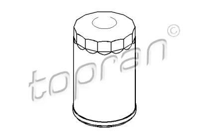 100653 TOPRAN Масляный фильтр