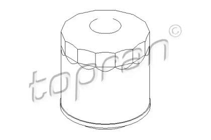 101519 TOPRAN Масляный фильтр