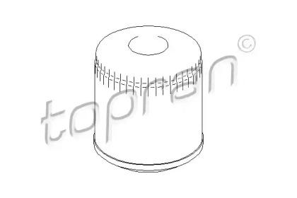 105758 TOPRAN Масляный фильтр