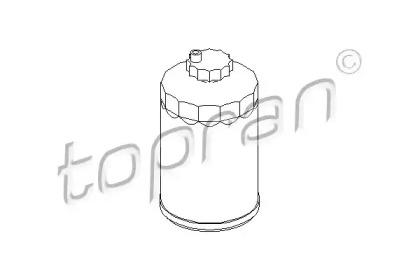 109045 TOPRAN Топливный фильтр