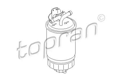 102732 TOPRAN Топливный фильтр