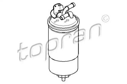 107725 TOPRAN Топливный фильтр