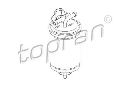 108503 TOPRAN Топливный фильтр