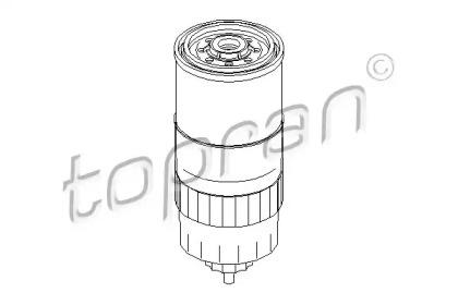 100316 TOPRAN Топливный фильтр