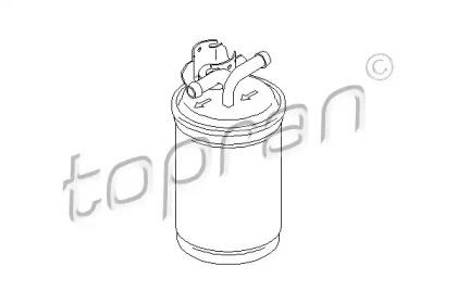 110731 TOPRAN Топливный фильтр