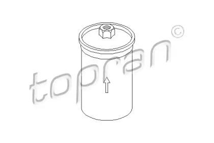 104276 TOPRAN Топливный фильтр