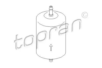 401032 TOPRAN Топливный фильтр