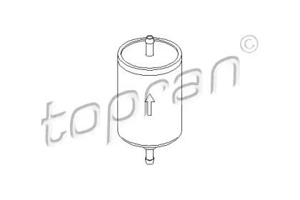 103023 TOPRAN Топливный фильтр